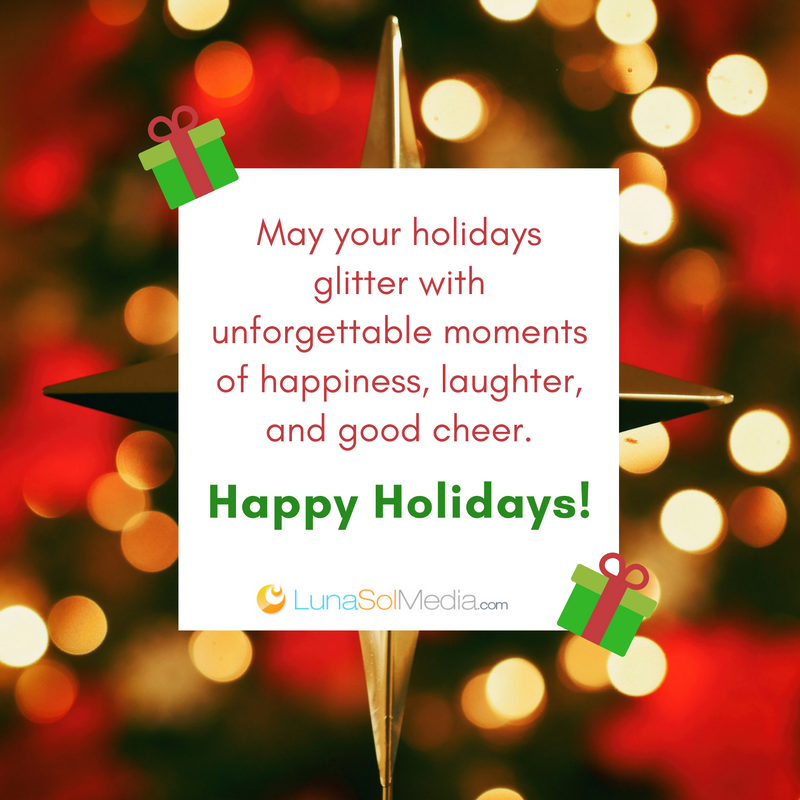 Happy Holidays from LunaSol Media