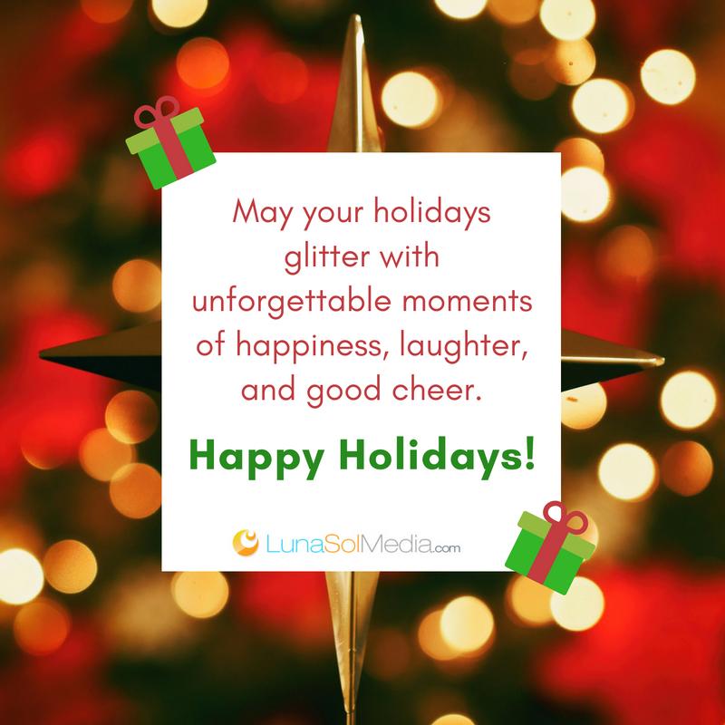 Happy Holidays from LunaSol Media