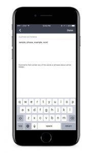 Facebook Live Filter