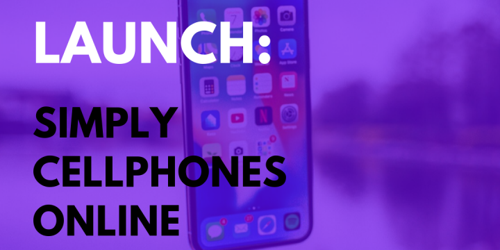 New Campaign: Simply Cellphones Online