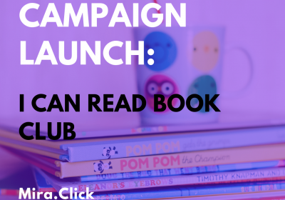 New Campaign: I Can Read Book Club
