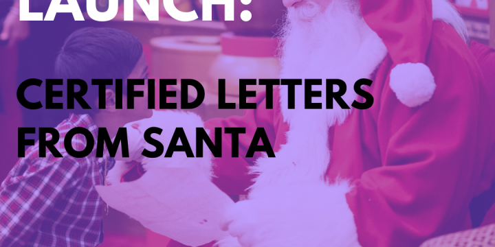 New Campaign: Certified Letters From Santa