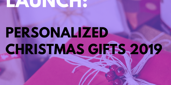 New Campaign: Personalized Christmas Gifts 2019