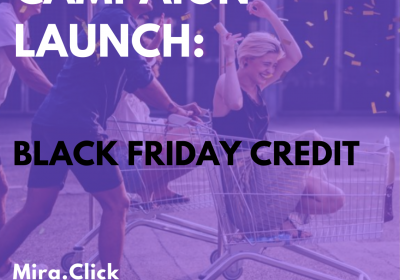 New Campaign: Black Friday Credit