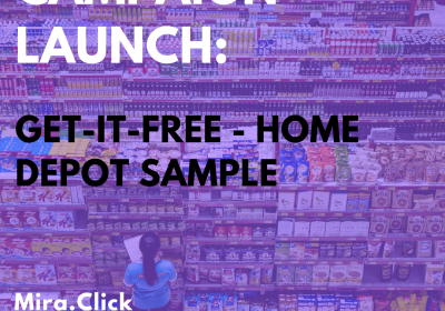 New Campaign: Get-it-free – Home Depot Sample