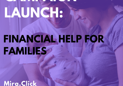 New Campaign: Financial Help for Families