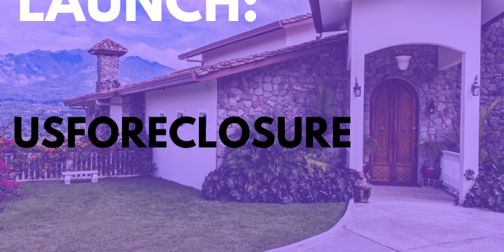 New Campaign: USForeclosure – Foreclosed Homes Resource