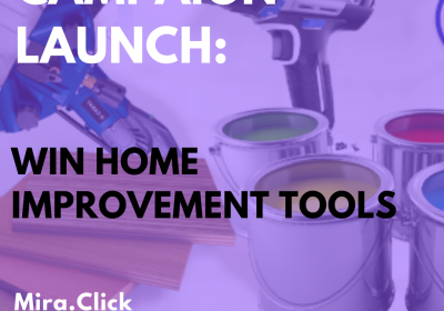 New Campaign: Win Home Improvement Tools