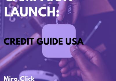 New Campaign: Credit Guide USA