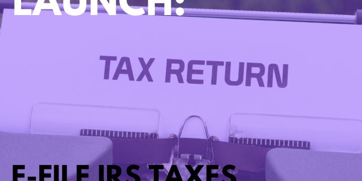 New Campaign: E-file IRS Taxes