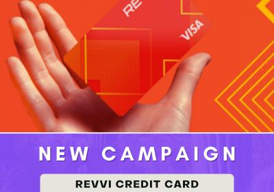 New Campaign: Revvi Credit Card