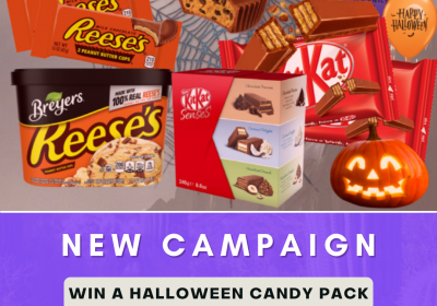 New Campaign: Win a Halloween Candy Pack