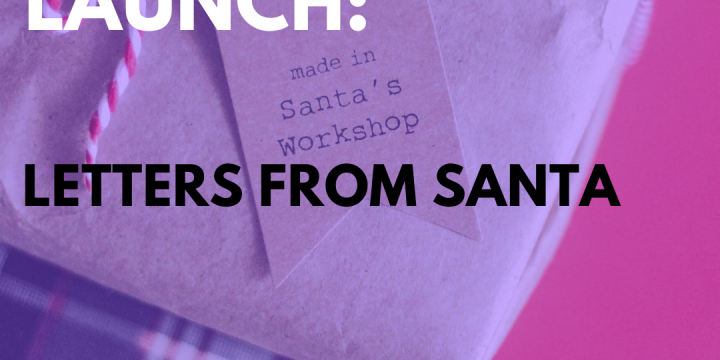 New Campaign: Letters From Santa