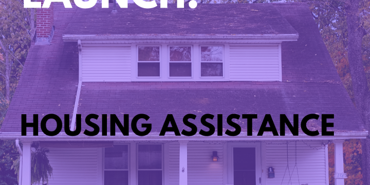New Campaign: Housing Assistance