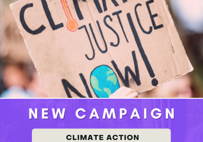New Campaign: Climate Action